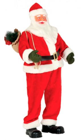 Papa Noel decoración con música
