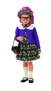 Disfraz abuela para niña