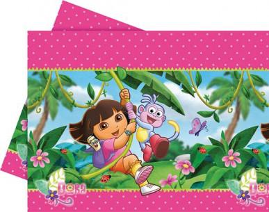 Mantel cumpleaños Dora...