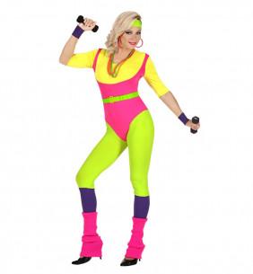 Disfraz aeróbic años 80