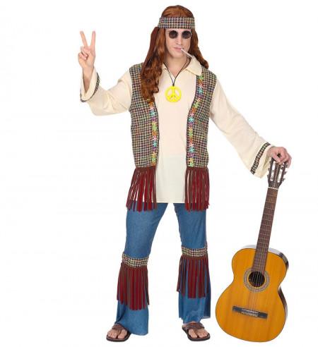 Disfraz de Hippie años 60 hombre