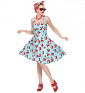 Disfraz estilo años 50 mujer