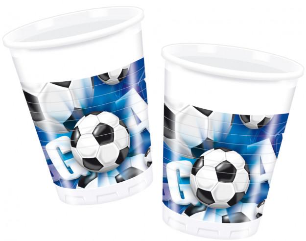 10 vasos cumpleaños Fútbol