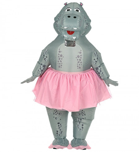Disfraz hipopótamo bailarina