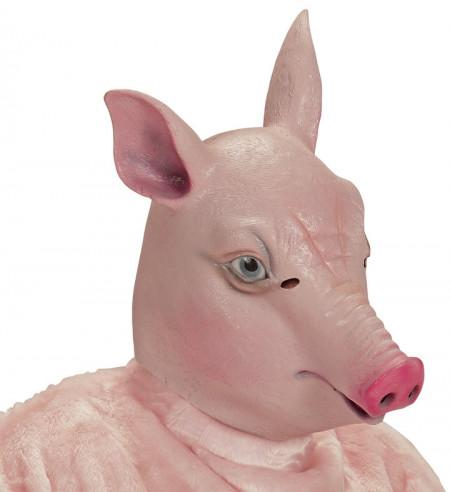 Máscara de cerdo completa