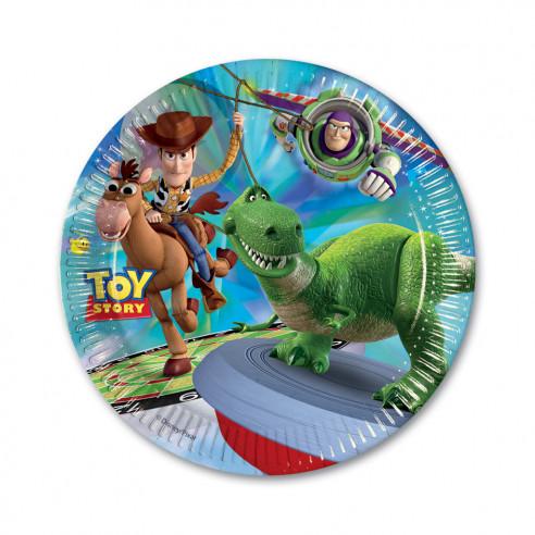 8 platos cumpleaños Toy Story