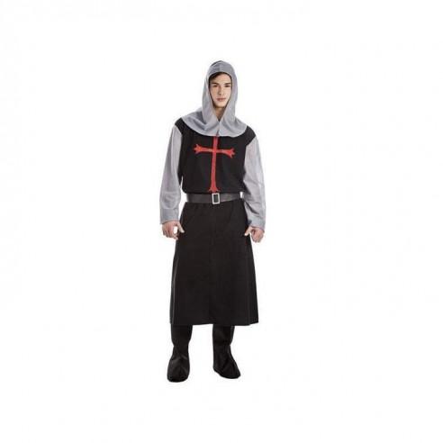 Disfraz cruzado negro