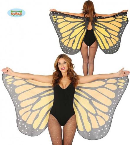 Alas mariposa grandes