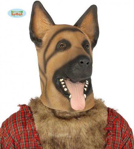 Careta perro latex
