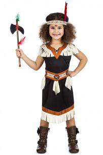 Disfraz india infantil negro