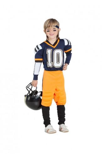 Disfraz jugador de rugby infantil