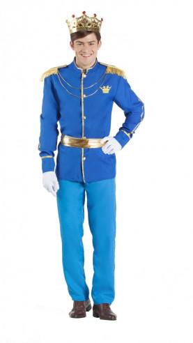 Disfraz principe azul hombre