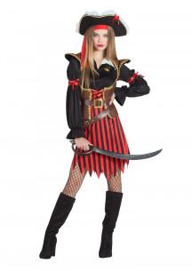 Disfraz pirata para mujer...