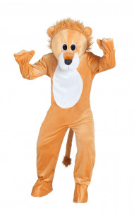 Disfraz león de peluche