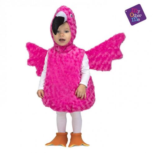 Disfraz flamenco peluche infantil