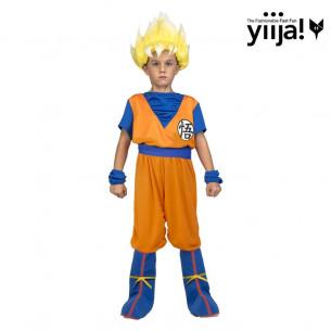 Disfraz Goku Saiyan infantil