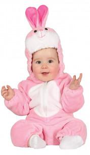 Disfraz conejito bebé rosa
