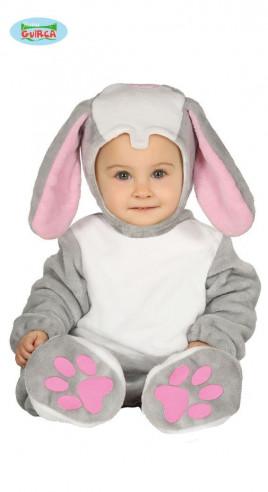 Disfraz conejito bebé gris