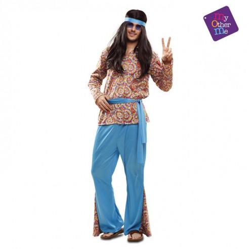 Disfraz hippie psicodélico