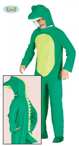Disfraz cocodrilo adulto