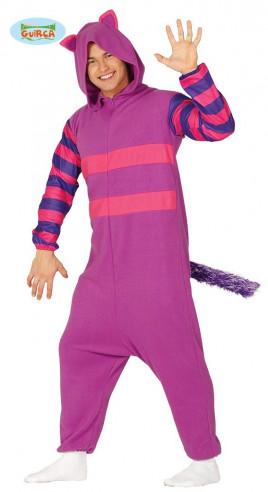 Disfraz pijama gato lila