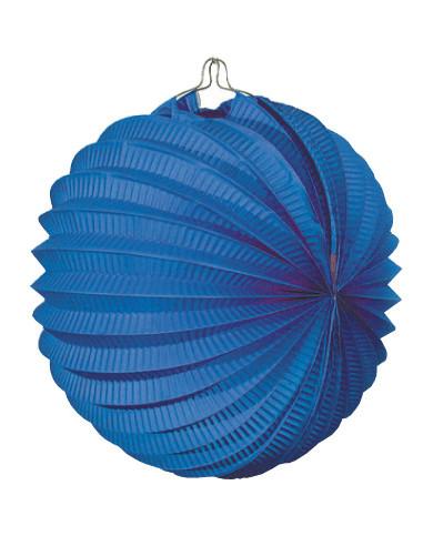 Farolillo feria azul