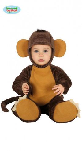 Disfraz mono para bebé