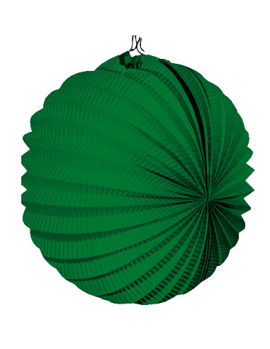 Farolillo feria verde