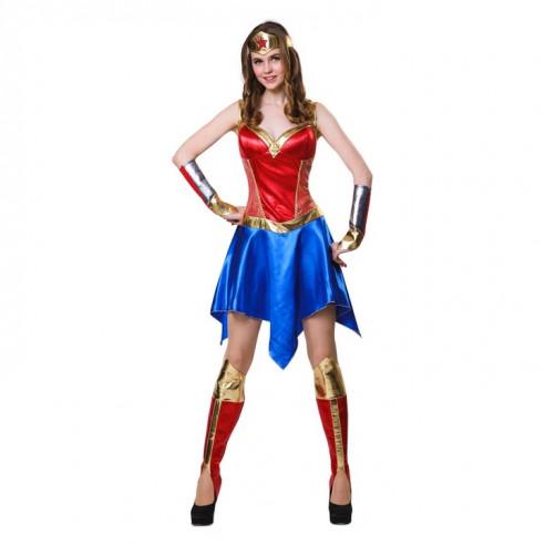 Disfraz superheroina chica