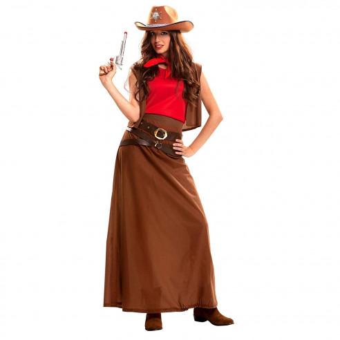 Disfraz Cowgirl Falda