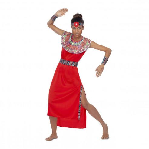 Disfraz Masai Mujer