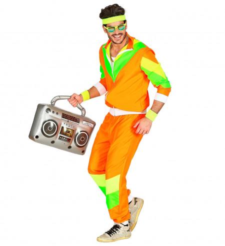 Disfraz Chandal Años 80 Naranja
