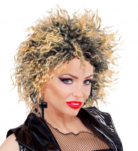 Peluca Estrella Del Pop Años 80