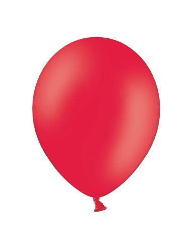 50 Globos rojos 27 cm