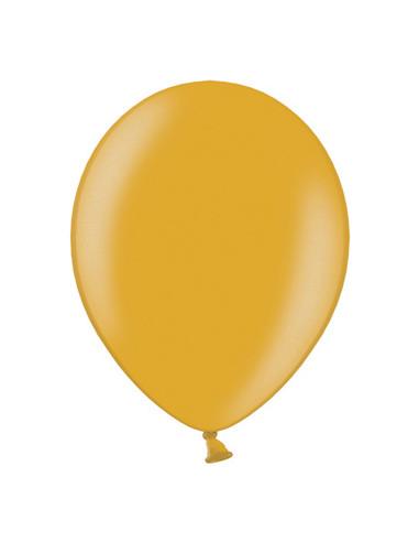 50 Globos Metalizados oro 30 cm