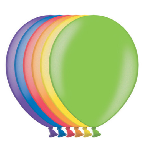50 Globos Metalizados de colores