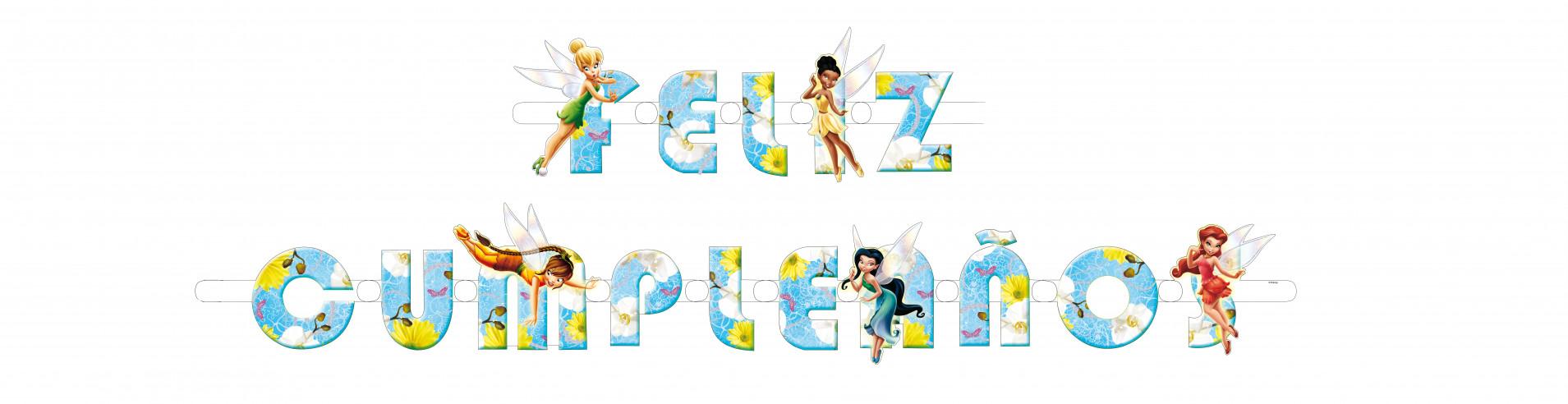 Guirnalda Feliz cumpleaños Fairies