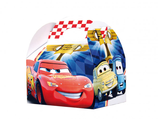 Cajitas Cumpleaños Piston Cup Cars