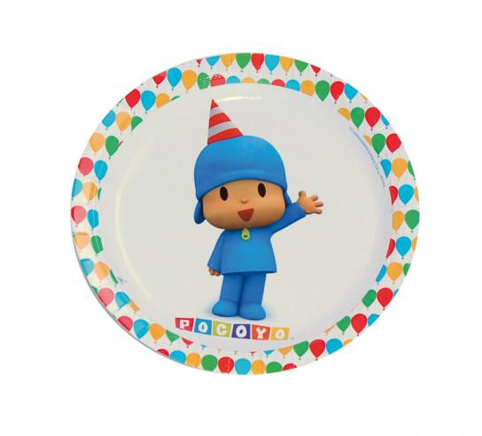 8 Platos Cumpleaños Pocoyo