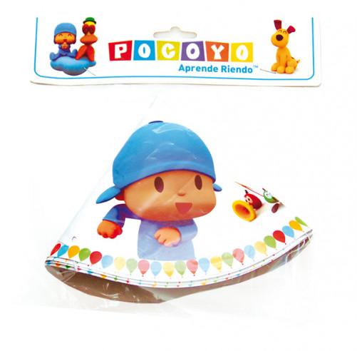 4 Sombreros cono Pocoyo