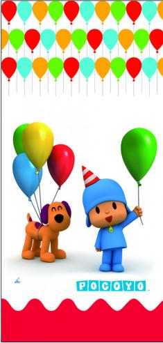 100 Bolsas Cumpleaños Rectangulares...