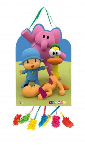 Piñata Cumpleaños Mediana Pocoyo Campo