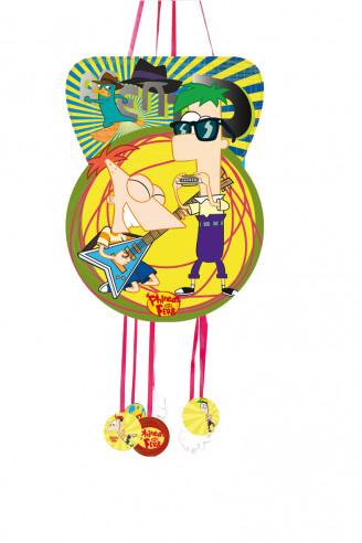 Piñata Cumpleaños Grande Phineas &...