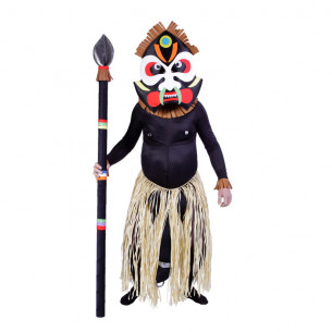 Disfraz de Zulú para Adulto