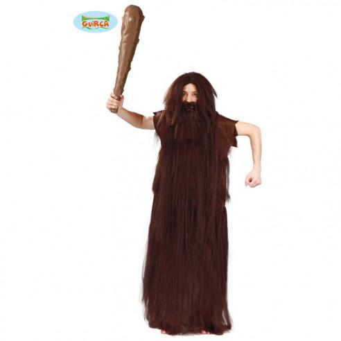 Disfraz de Cavernicola con Pelos para...